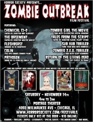 Paisley Babylon at zombie outbreak film festival