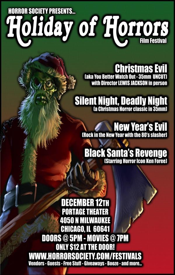 Holiday Horrors Chicago Horror Society