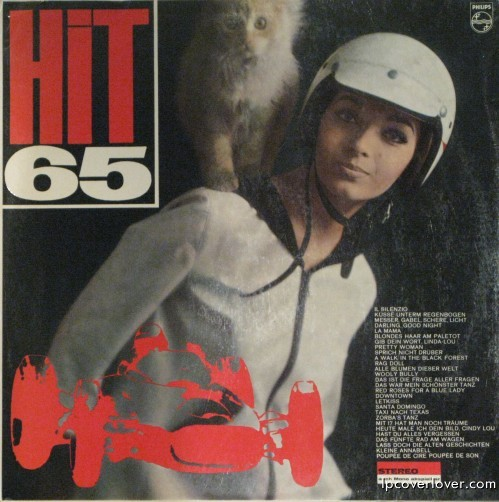 Hit 65 retro album cover