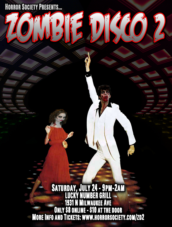Zombie Disco 2 DJ Paisley Babylon