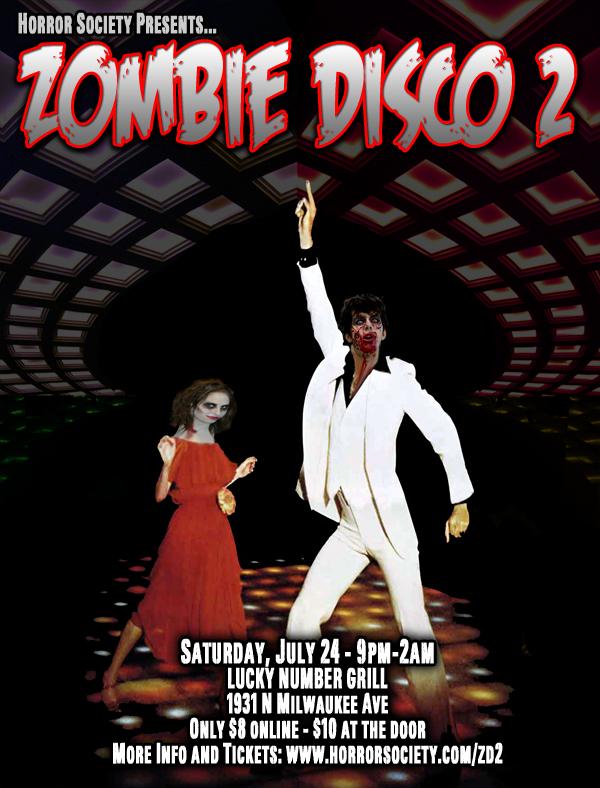 Zombie Disco 2 DJ Paisley Babylon