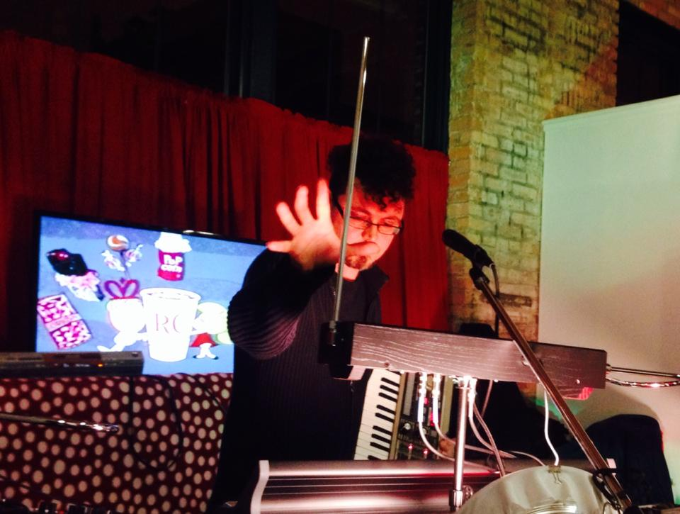 Joe Wallace and Theremin