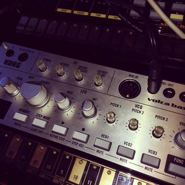 Moog Theremini Korg Volca Joe Wallace